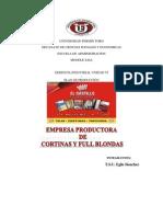PLAN DE PRODUCCION DE CORTINAS Y FULL BLONDAS