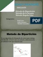 Metodo de Biparticion Presentacion