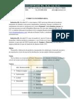 Curriculum Empresarial - IRL - 2012