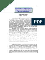 Spade - Boehner's Text of Burley's de Puritate Artis Logicae - Corrections