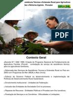 Apresentação PRONATER - Ruberval Gomes da Silva superintendete INCRA
