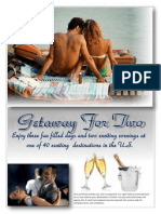 getaway for two - website sample copy