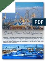 family theme park getaway - website sample copy