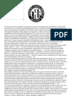'Sobre El Estado' (Concepciones Generales de La FACA)