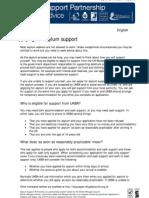 Applying for Asylum Support2009English
