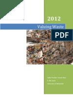 Cason Capstone Valuing Waste