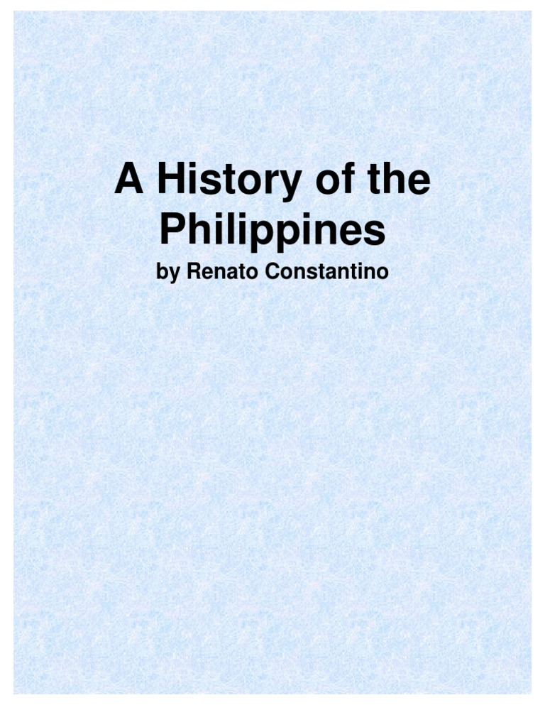 The Philippines: A Past Revisited by Renato Constantino | Mercantilism |  Capitalism