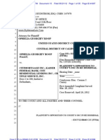 Rich Rydstrom Attorney OPPO DISMISS ROOP June 2012 Federal