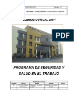 Programa de Sst Municipalidad Ate