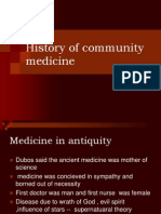 Concept of Community Medicine, Community & Community