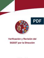 UC19-Verificacion y Revision Del SGSST Por La Direccion