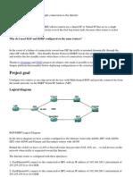 Multi-Homed BGP With HSRP