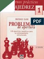 1-2004-Cuadernos Practicos de AJEDREZ Problemas de Apertura