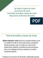 Teoría de ácidos y bases de Lewis