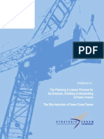 Tower Crane Planning and Liaison Process