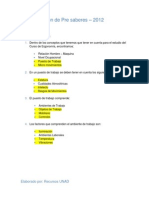 Act 1. Revision de Pre Saberes - Ergonomia