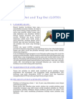 Control of Hazardous Energy Training (Lock Out Tag Out)