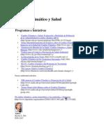 Cambio Climático y Salud Humana