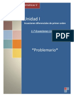 P1.7 Ecuaciones lineales