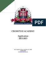 Application 2012 2013