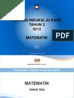 Dokumen KSSR Matematik Tahun 3