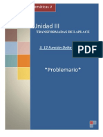 P3.12 Funcion Delta de Dirac