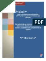 P4.2 Solucion de Un Sistema de ED Con Condiciones Iniciales Por Medio de La TP
