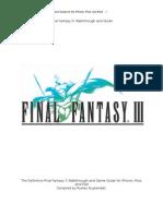 Final Fantasy III Guide (iOS)