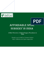 Affordable Spine surgery in India