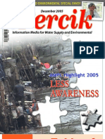 Indonesia Water and Sanitation Highlight 2005. PERCIK. Indonesia Water and Sanitation Magazine. December 2005