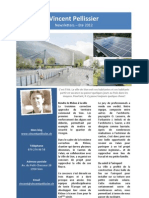 Newsletter  Eté 2012