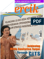 Achieving MDGs Sanitation Target through CLTS. PERCIK. Indonesia Water and Sanitation Magazine. December 2008