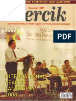 International Year of Sanitation. PERCIK. Indonesia Water and Sanitation Magazine. December 2007
