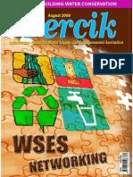 Water and Sanitation Networking. PERCIK. Indonesia Water and Sanitation Magazine. August 2008