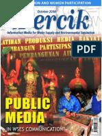 Public Media in Water and Sanitation. PERCIK. Indonesia Water and Sanitation Magazine. October 2008.