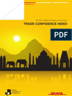 DHL/BCC Trade Confidence Index 2012