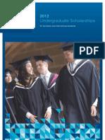 Scholarships UG 2012 Borchure