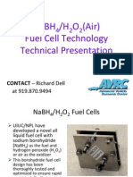 Sodium Borohydride Fuel Cell AVRC