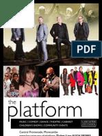 The Platform Summer 2012 brochure