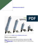 Complete Overview of Lightning Arrester 2