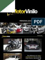 MotorVinilo - Personalización con vinilo