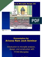 Micro Pile Seminar Presentation