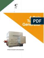 TMEIC 4 Pole Generator