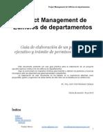 Project Management practico de un proyecto y obra