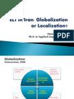 Globalization ELT IRAN