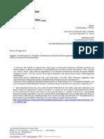 Lettera aperta contro i lavori a Ponte Nomentano