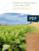 Position Paper Dutch Sugar Sector