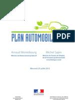 Plan Automobile - 25 Juillet 2012