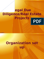 Due Diligence-Real Estate
