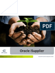 Oracle iSupplier Overview